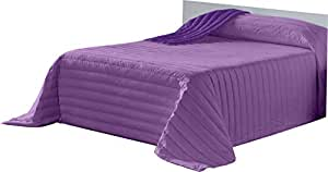 Lucena Singes Heat No Weight 床罩全用途自行车,超细纤维,紫色/淡紫色床,150,250 x 270 厘米