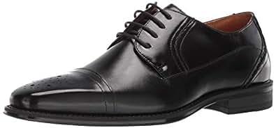 STACY ADAMS 男士 Powell 开普托系带牛津鞋 黑色 15 M US
