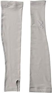 Sidabrun X 護臂套 (指扣型) 吸汗速干 防紫外線 彈力 *防臭 [ 女款 ] HUY421 灰色 日本 M (日本サイズM相當)