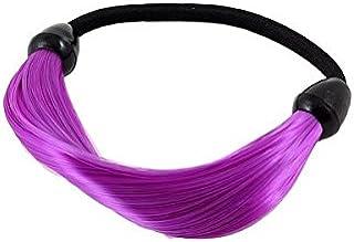Uxcell 仿真假发连接弹性马尾辫夹发环,0.02 磅
