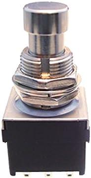 【ALPHA】阿尔法公司制造 3PDT高耐久脚开关TWA-FSW-BKx2 2個セット