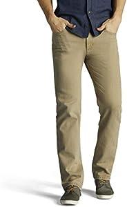 LEE Men's Regular Fit Straight Leg Jean, Lyon 40W x