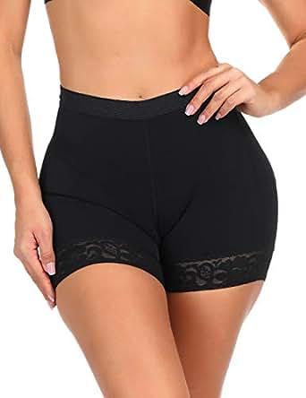 Lover-Beauty 女士提臀塑身收腹大腿紧身塑身衣 Black Mid Waist US 14-16(XL)