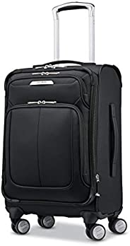 Samsonite Solyte DLX Expandable Softside Carry On with Spinner Wheels, 21 Inch, Midnight Black