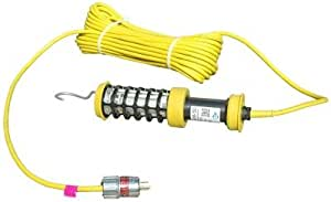 Larson Electronics 0321OXB45YM 防爆紧凑 LED 手提灯 - I 级,Div. I - 30.48m 近导线 - 延长插头 - 400 lms