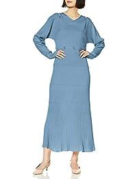 SNIDEL 多纽扣设计针织连衣裙 SWNO201056 女士