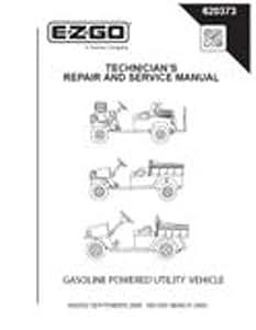 EZGO 620373 2008 Technician 维修与服务手册,适用于煤气、ST 汽车和雅克宾 4000 多用途车辆