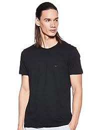 Emporio Armani 阿瑪尼 男士純棉圓領T恤衫,3件裝