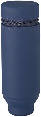 Lihit Lab 立式文具盒 Smart Fit Actact 本体サイズ:172mmx60mmx60mm/130g 藏青色