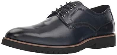 STACY ADAMS 男士 Barclay 平头正装休闲牛津鞋 靛蓝色 15 M US