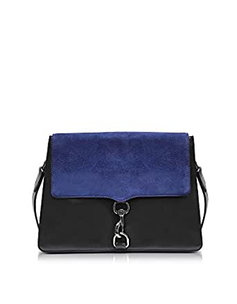 REBECCA MINKOFF 女人 HU17GSUD19415 蓝色/黑色 皮革 肩袋 /