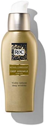 RoC Retinol Correxion深层抗皱面部精华,使用视黄醇制成的抗皱护理 1 fl. Oz(约30ml)