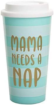 Kate & Milo Mama Need's a Nap Tumbler 旅行杯,妈妈的*天礼物,妈