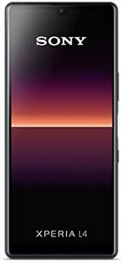 Sony 索尼 Xperia L4 智能手机(15.7厘米(6.2英寸)18:2:9宽高清显示屏,三摄像头,Android 9,SIM 卡,3 GB RAM,64 GB内存)XQAD52M4B.EEAC  黑色