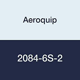 Eaton Aeroquip 2084-6S-2 钢管接头,长奶嘴,3/8 英寸 NPT 公头