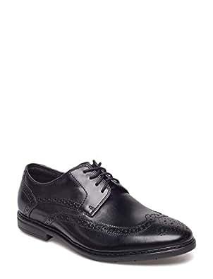 Clarks 男 正装鞋 261322427060 黑色 39.5  Banbury Limit/班伯里布洛克
