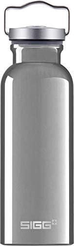 Sigg 中性原装水瓶,银色,0.5
