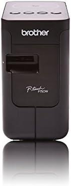 Brother 兄弟 P-touch P750W专业电脑用标签打印机,带有WLAN和NFC
