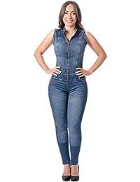 Lowla 牛仔连身衣女士连身衣 - Enterizos Colombianos De Mujer
