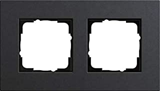 GIRA Esprit Lino 多路复用 0212226 车罩 2 件式, 无*煤色