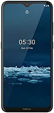 诺基亚 5.3 全解锁智能手机带 6.55 英寸 HD+ 屏幕,AI-Powered 22 MP Quad 摄像头和 Android 10 2020(AT&T/T-Mobile/Cricket/Tracfone/