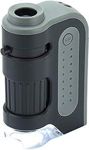 Carson 卡尔森 MicroBrite Plus 60 -120x 电源 LED 照明袖珍显微镜