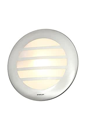 Stanley 圆壁灯,E27,不锈钢 亮灰色 9 x 30 x 30 PR29328SE