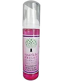 Sparkle Bright *珠宝清洁液 | 76.39 克泡沫液体 | 珠宝清洁剂适用于超声波、钻石、精致、服装和设计师珠宝