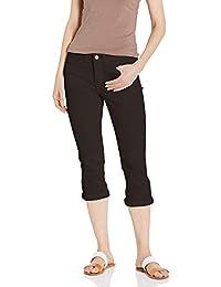 LEE 女式 Flex Motion 常规款 5 口袋七分牛仔裤