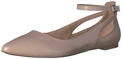 Franco Sarto Sylvia 女士芭蕾平底鞋 米色 5 M US