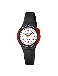Calypso 中性儿童指针石英手表塑料手链 K6069/6