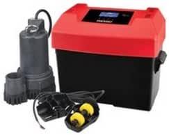 Ridgid 47323 RSM33 12 伏电池备份系统,带高级通知