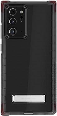 Ghostek Covert Galaxy Note 20 超清保护套带支架和手握牢固超薄设计无线充电兼容保护套适用于 2020 Galaxy Note20 Ultra 5G (6.9 英寸) - (烟灰色)