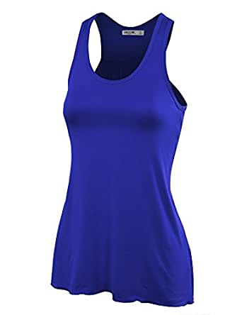 LL Womens Everyday Racerback Tank Top - Made in USA  Wt830_royal_brite Small