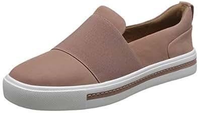 Clarks 中性 板鞋 261401694030 玫瑰色 35.5  Un Maui Step/优越毛伊便鞋
