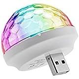 多色迷你 USB 迪斯科灯