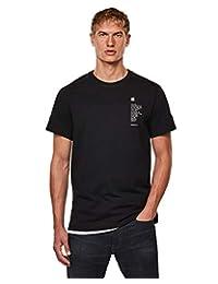 G-Star Raw 男士 Korpaz 标志图案直筒 T 恤