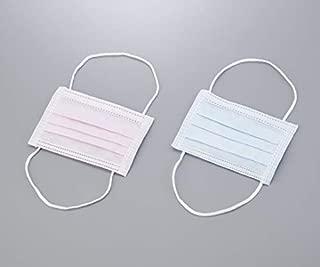 AS ONE 幼儿用口罩(头戴式) 粉色 30个装/8-1671-01