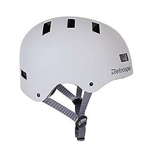 "Retrospec CM-1 经典通勤自行车/滑板/多运动头盔,带 10 个通风口 Medium: 55-59 cm / 21.75""-23.25"" 3093"