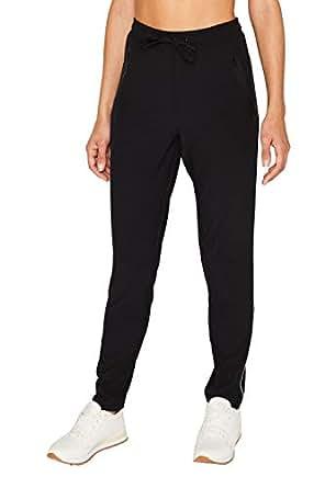 ESPRIT Sports 女士长裤 Wv Sl 运动裤 黑色 W(Herstellergröße: L)