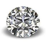 珂兰钻石 裸钻0.3ctF色SI2级G切工证书号1146588752