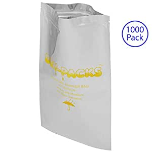 Dry-Packs 6 by 10-Inch Mylar Moisture Barrier Zipper Seal Recloseable Bag, Pack of 1000