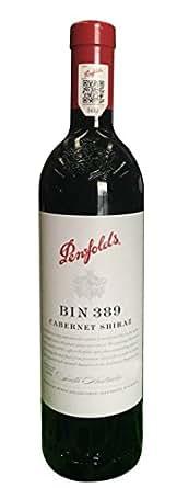 Penfolds 奔富 Bin389赤霞珠西拉红葡萄酒750ml 2015(单支礼盒装)(澳洲进口红酒)(新老包装、年份随机发货,品质不变 )