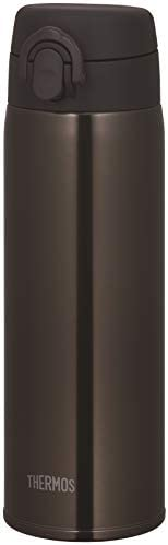 THERMOS 膳磨師 水壺 真空隔熱便攜式馬克杯 0.5升 500毫升 JOF-500 深棕色 500ml JOF-500 DBW
