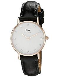 Daniel Wellington 丹尼尔·惠灵顿 时尚女士手表 腕表 女表 皮质表带 手表 0901DW 不同批次包装盒随机发送(瑞典品牌 )