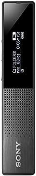 Sony 索尼 icd-tx 650 纤细数码 PCM / MP3 立体声语音录音机 LED 明亮显示屏,16GB 内置内存, PC LINK 和15小时录音时间