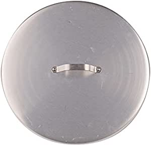 Pentole Agnelli 盖子 适用于砂锅碗碟 2 个楔子厚度 3 毫米 银色 30 cm Pentole Agnelli_ALMA154C30