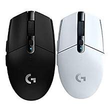 罗技 (G) G304 LIGHTSPEED无线游戏鼠标 无线鼠标 吃鸡鼠标 绝地求生 鼠标宏 (黑)