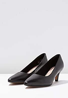 Clarks 女 中跟鞋 261372084035 黑色 36  Linvale Jerica/玲薇儿 芮卡