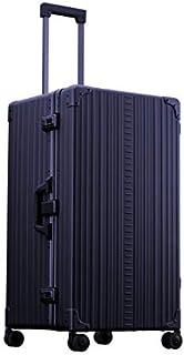 Aleon 76.2 厘米国际行李箱铝质硬边行李箱 宝石蓝 XX-Large Trunk Luggage 30.6 x 16.9 x 14.6 inches